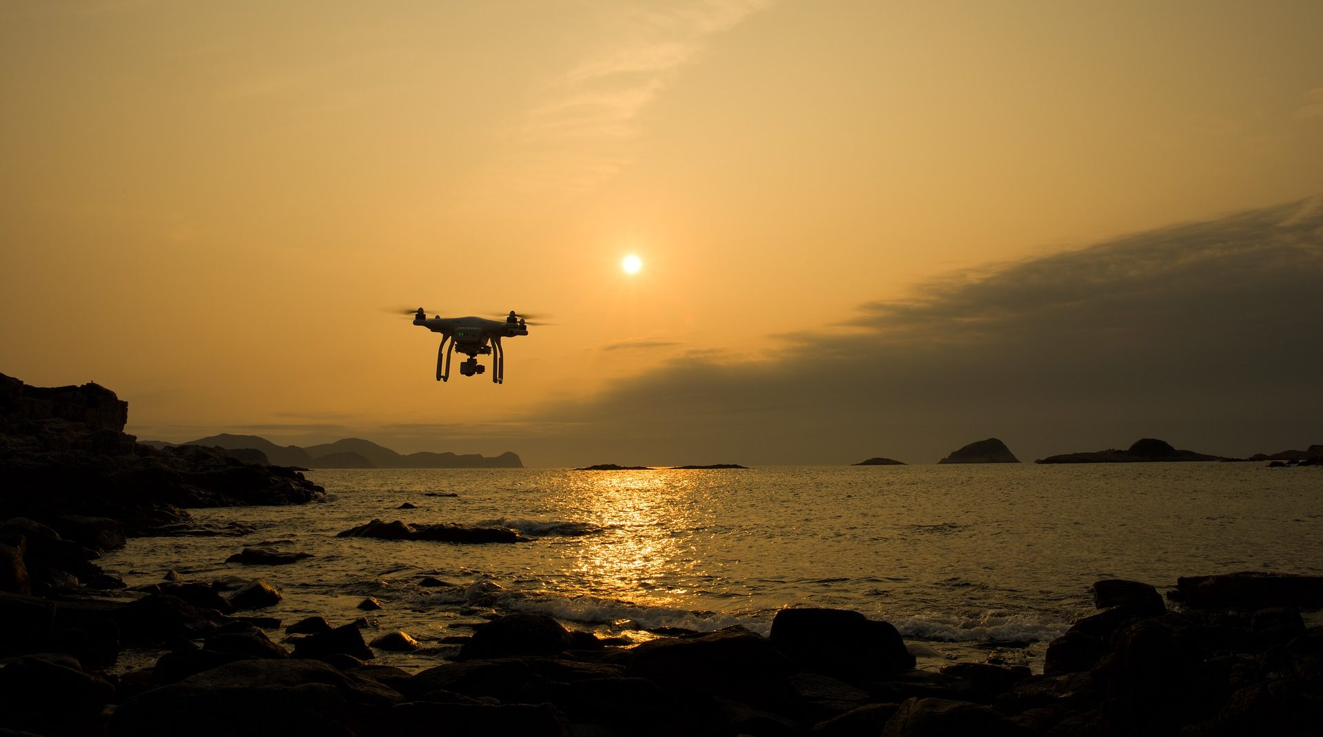Look beyond the horizon. Let drones show you from above!